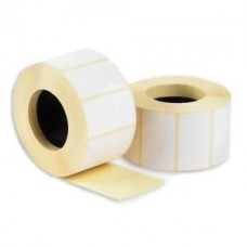 Термоэтикетки (этикет-лента) 58x40 мм, 500 шт., втулка 40 мм. для принтеров штрих-кода и весов