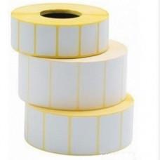 Термоэтикетки (этикет-лента) 47x25 мм, 2000 шт., втулка 40 мм. для принтеров штрих-кода и весов