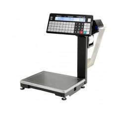 Весы с печатью этикеток Масса-к ВПМ-Т1  с устройством подмотки ленты