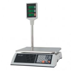 Торговые электронные весы со стойкой M-ER 327 ACP